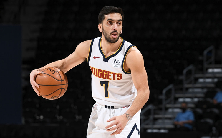 En Denver no descartan la presencia de Facundo Campazzo ante los Kings | Basquet Plus